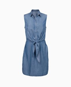 Denim Tie Dress
