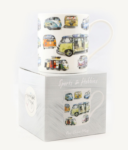 Campervan Fine China Mug