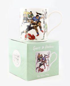 Rugby Fine China Mug