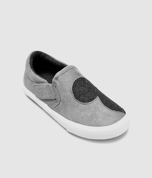 Mickey Grey Slip On