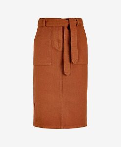 Rust Co-ord Pencil Skirt