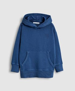Blue Washed Hoody