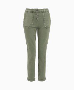 Patch Khaki Trouser