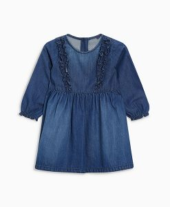 Ruffle Dark Wash