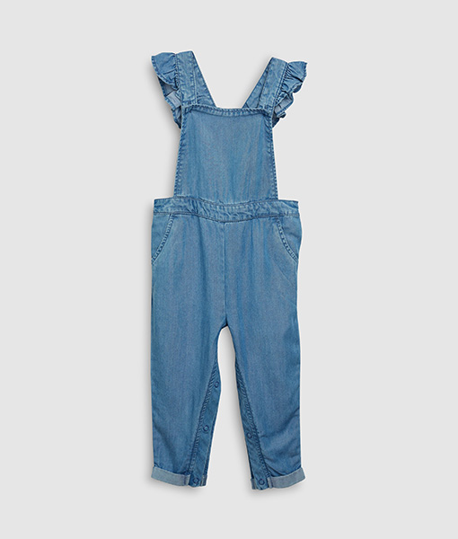 Denim fill Play suit