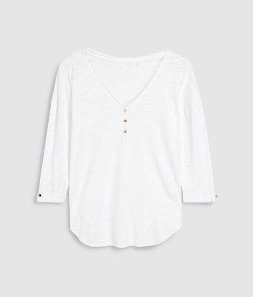 White Button Top