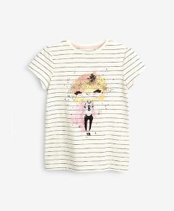 Glitter Stripe T-shirt