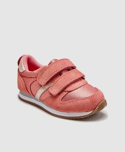 Pink Velcro Trainer