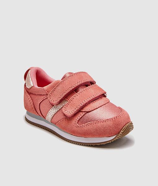 Pink Velcro Trainer