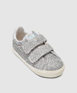 Velcro glitter trainer