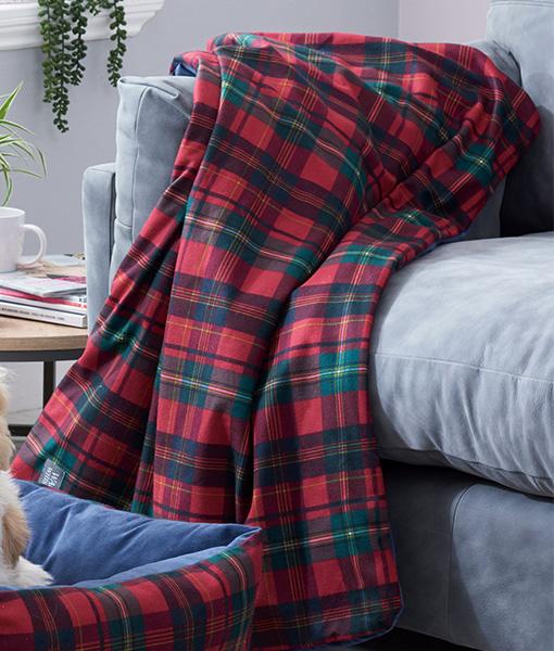 Tartan Pet Blanket