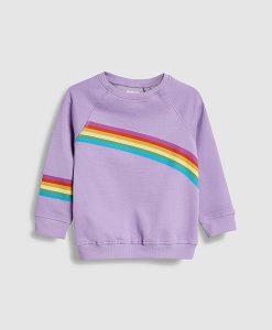Crew rainbow sweatshirt