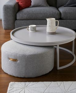 Marl Coffee Table and Stool