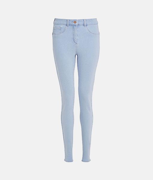 Skinny bleach jean