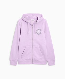 Lilac graphic hoody