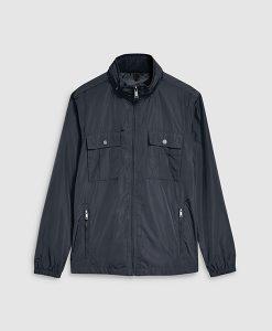 Navy Funnel Jacket
