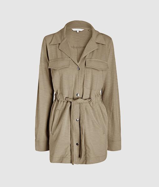 Washed Khaki jacket