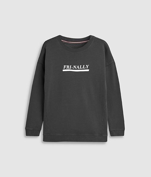 Fri-nally sweat jumper