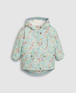 Floral Waxy Jacket