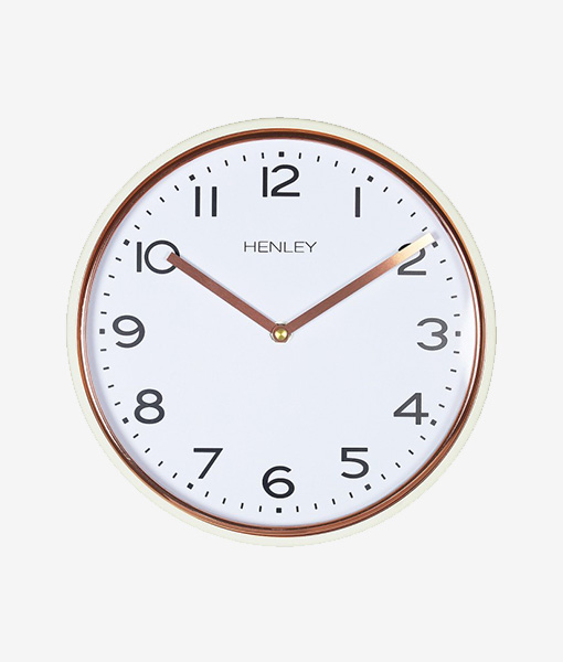 Henley Wall Clock Metal