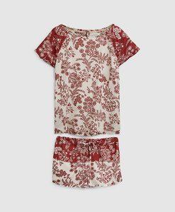 Rose Floral Pyjama Set