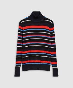 roll neck multi coloured
