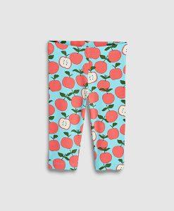 Apple print leggings