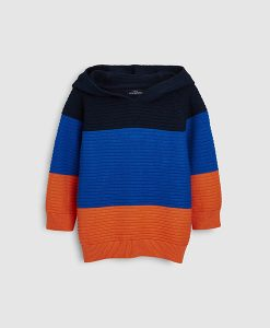 Coloured block hoodie