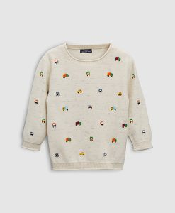 Character Embroidered Jumper