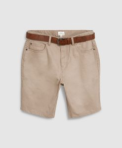 Stone belt chino short
