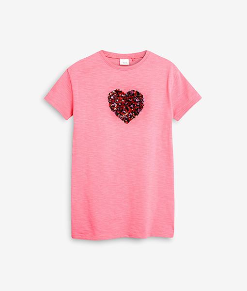 pink heart top