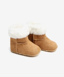 autumn sheepskin boots