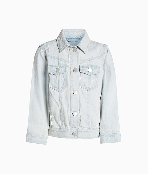 light denim jacket girls