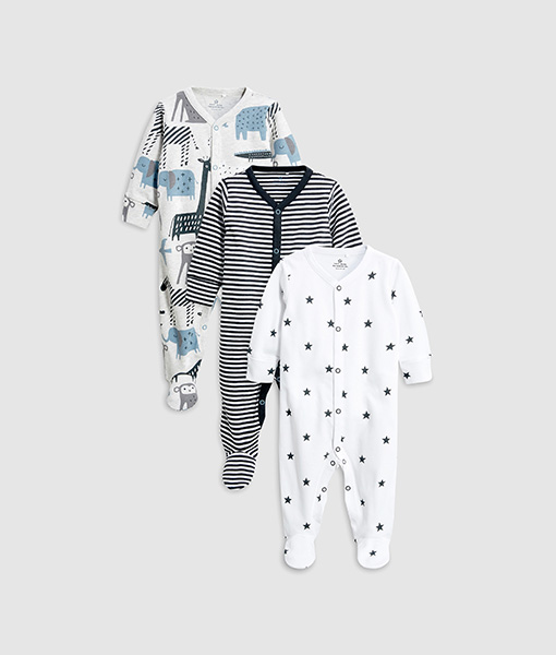 Star and Stripe Sleepsuit