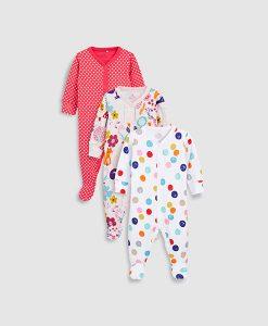Spotty Sleepsuit