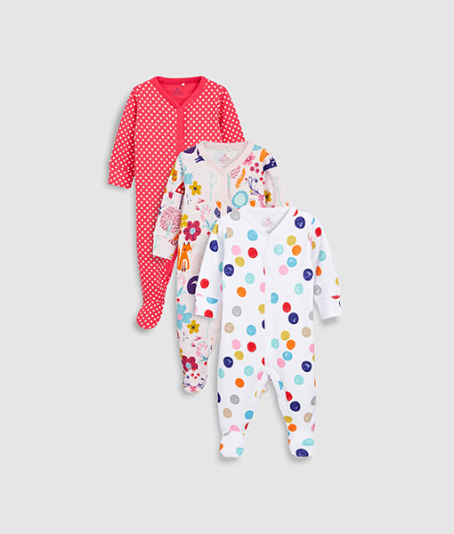 Spotty Sleepsuit
