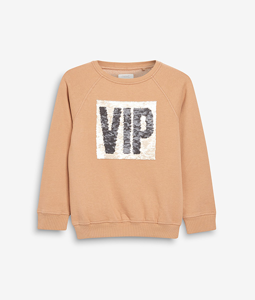 VIP Sequin Crewneck