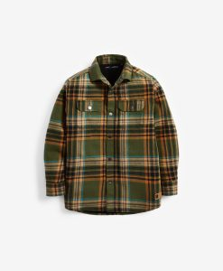 Khaki Check Shirt