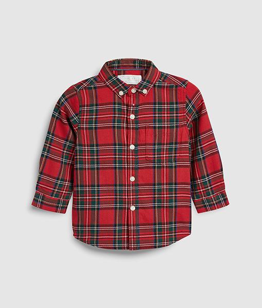Tartan red shirt