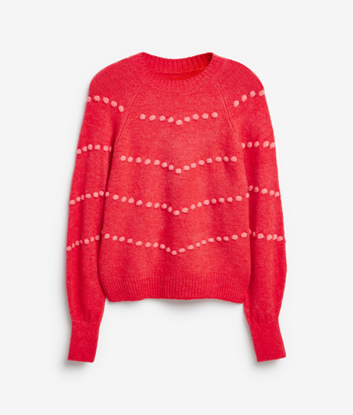 Red Bubble Jumper