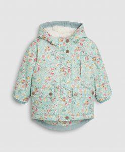 Floral Wax Coat