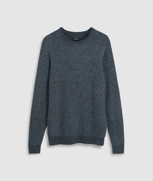 Blue Chenille Jumper