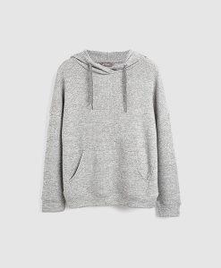 Grey Pullover Hoody