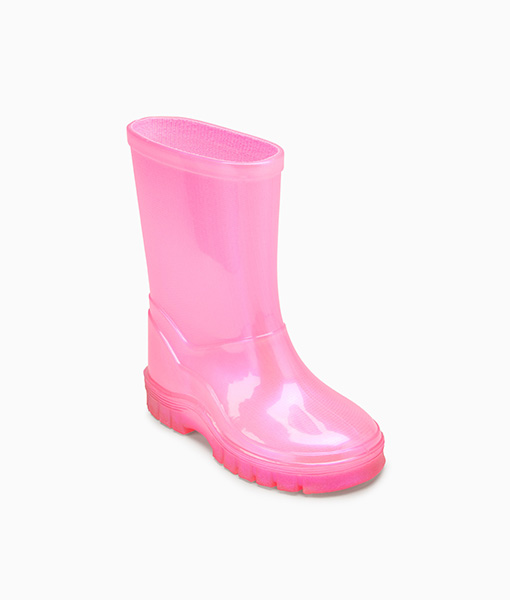 Pink PVC Wellies