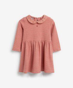Blush Collar Dress