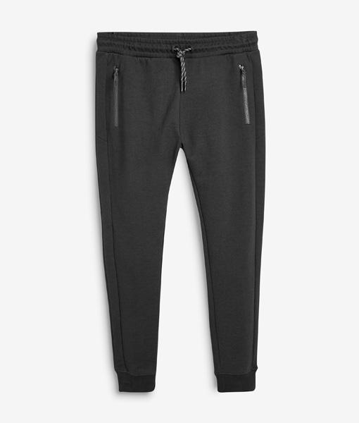 Black Slim Leg Joggers
