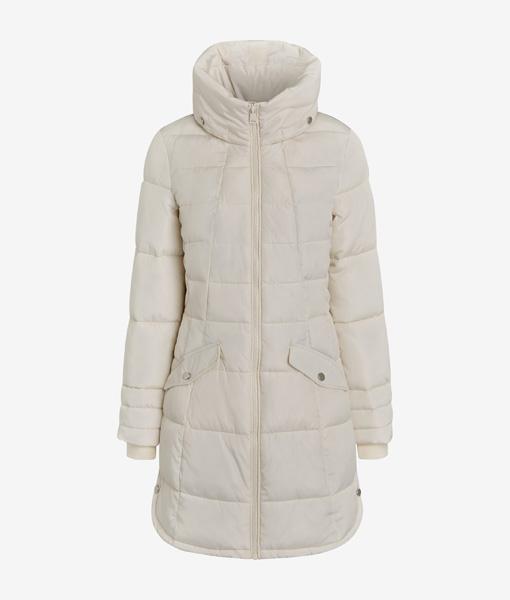 Cream Padded Coat