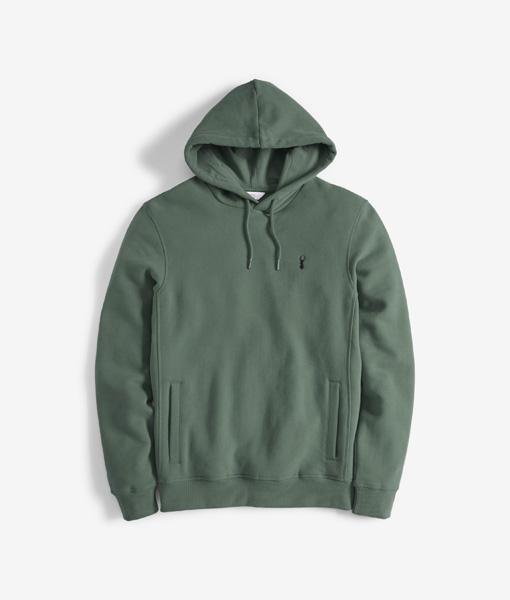 Green Pullover Hoody