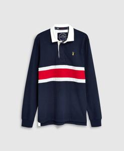 Navy Rubgy Shirt