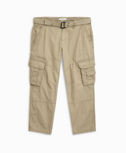 Stone Cargo Trousers